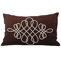 Pomeroy Vaquero Jute Oblong Throw Pillow