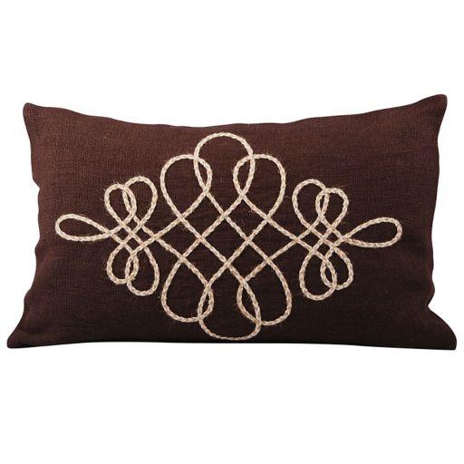 Pomeroy Vaquero Jute Oblong Throw Pillow