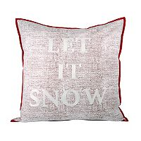Pomeroy ''Let it Snow'' Throw Pillow