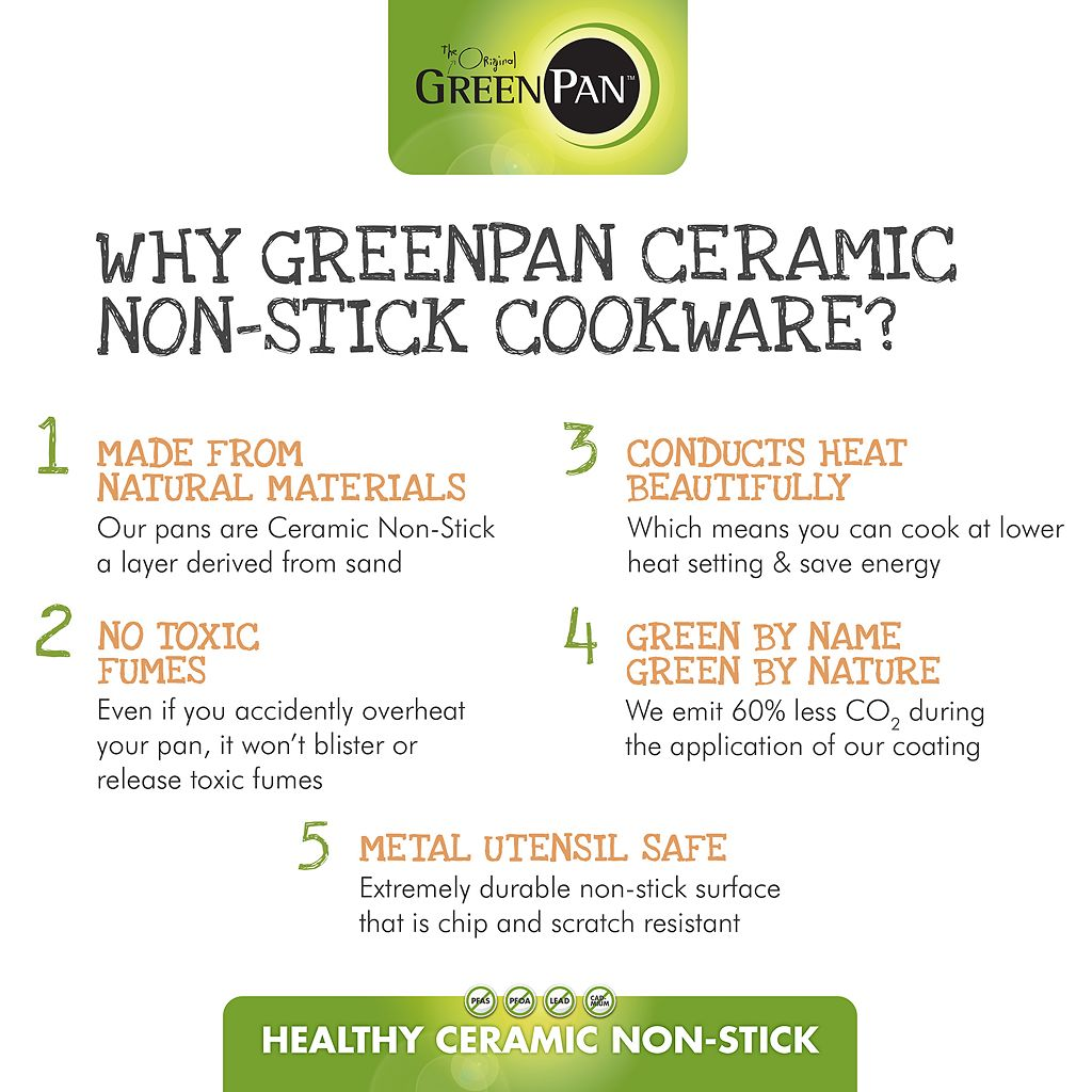 GreenPan Venice Pro 3.5-qt. Ceramic Nonstick Chef's Pan