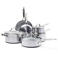 GreenPan Venice Pro 10-pc. Ceramic Nonstick Cookware Set
