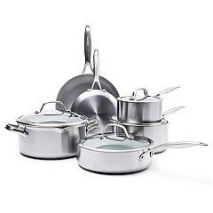 GreenPan Venice Pro 10-pc. Ceramic Nonstick Cookware Set