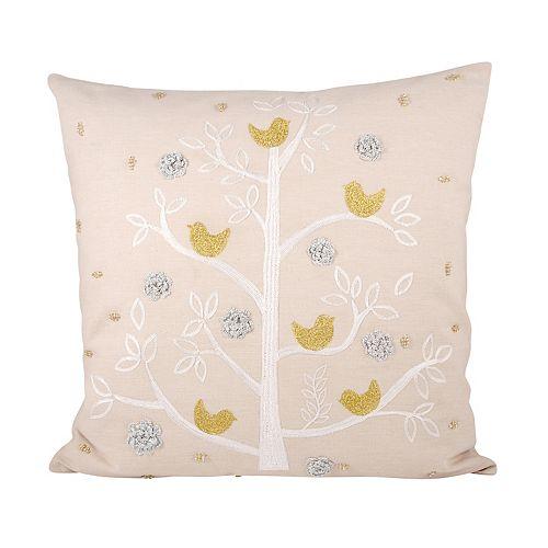 Pomeroy Holiday Partridge Throw Pillow