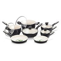 GreenPan Rio 12-pc. Ceramic Nonstick Cookware Set