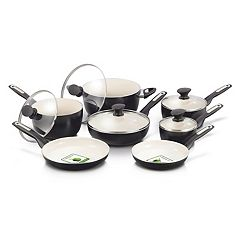 GreenPan Rio 12 pc Ceramic Nonstick Cookware Set