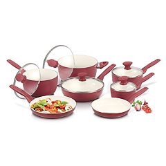 GreenPan Rio 12 pc Ceramic Nonstick Cookware Set