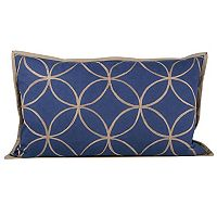 Pomeroy Indigo Dream Oblong Throw Pillow