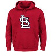 Big & Tall Majestic St. Louis Cardinals Logo Fleece Hoodie