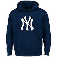 Big & Tall Majestic New York Yankees Logo Fleece Hoodie