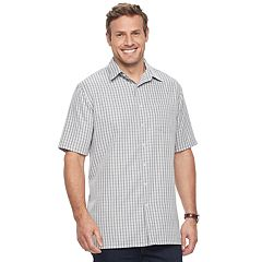 Big & Tall Croft & Barrow® Signature Microfiber Button-Down Shirt