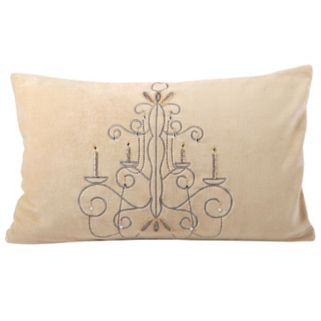 Pomeroy Chandelier Oblong Throw Pillow