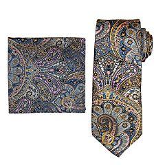 Men's Batik Bay Tie & Pocket Square