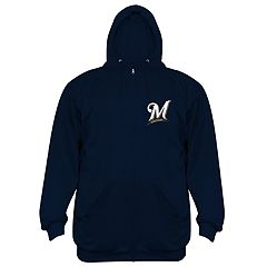 Big & Tall Milwaukee Brewers Fleece Hoodie