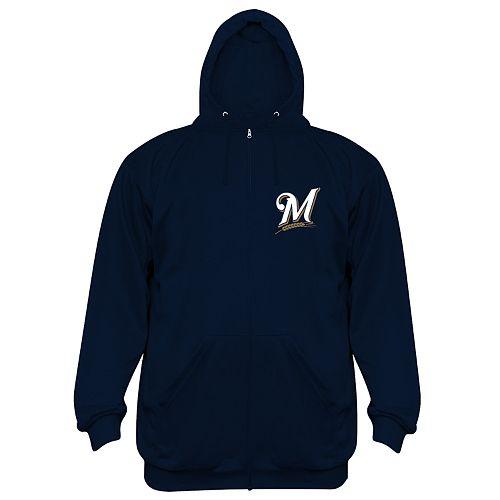 competitive price 98a8a 3765b Big & Tall Milwaukee Brewers Fleece Hoodie