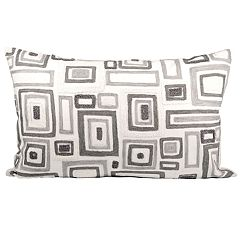 Pomeroy Mondrian Oblong Throw Pillow