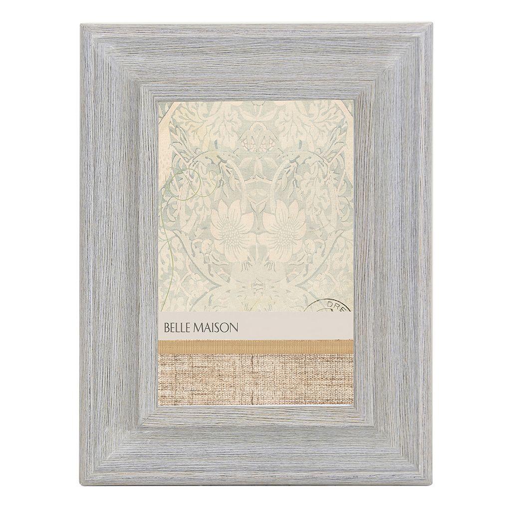 Belle Maison Distressed Light Gray Frame