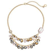 Simply Vera Vera Wang Shaky Bead Swag Necklace