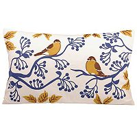 Pomeroy Tweet Oblong Throw Pillow