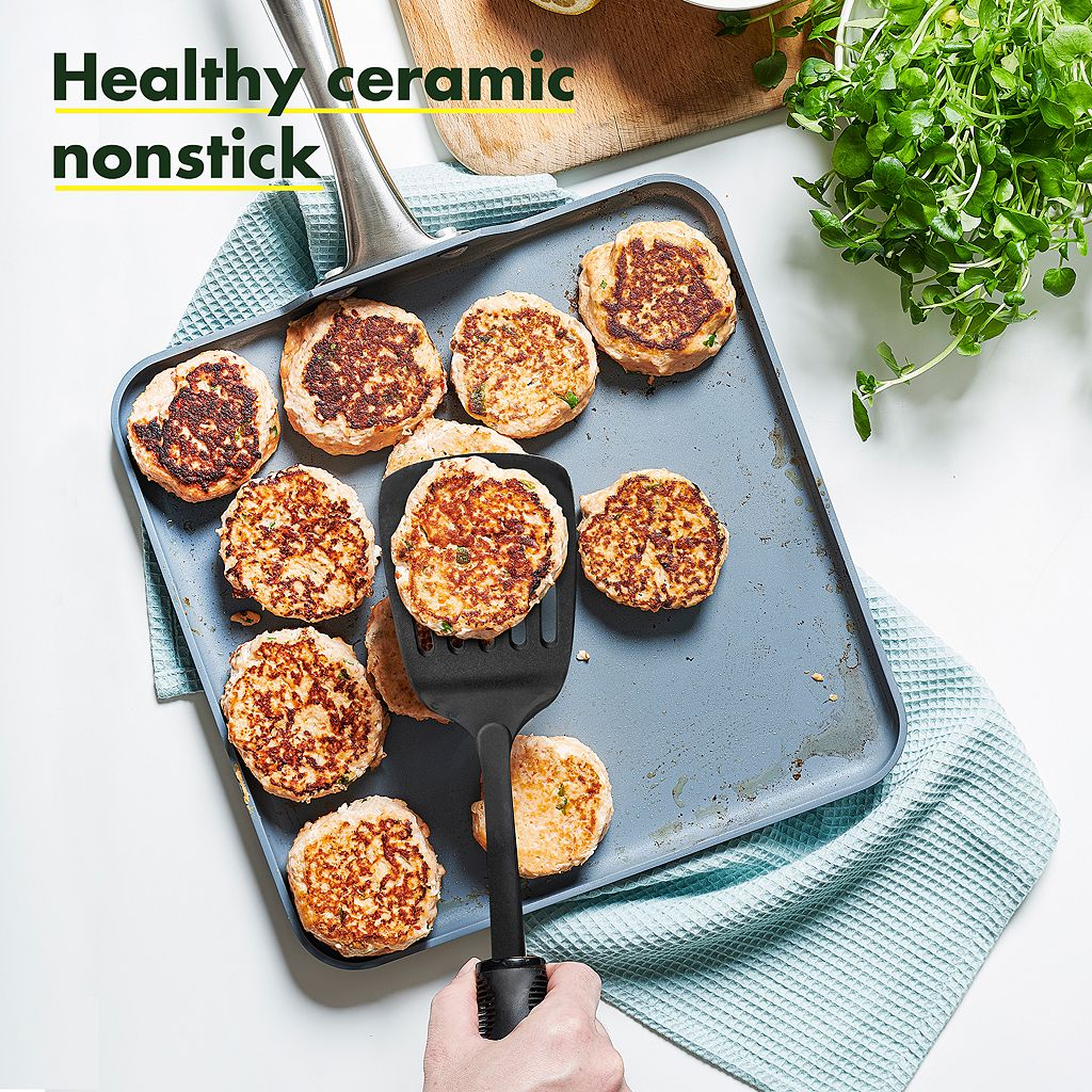 GreenPan Lima 11-in. Ceramic Nonstick Square Griddle
