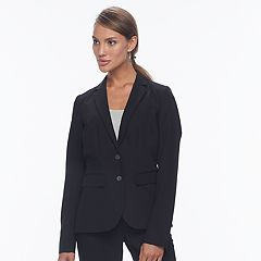 Women's Apt. 9® 2-Button Solid Blazer