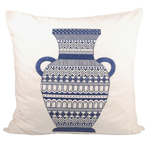 Pomeroy Classique Vase Throw Pillow
