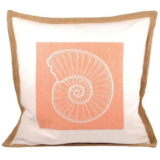 Pomeroy Nautilus Throw Pillow
