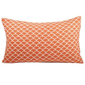 Pomeroy Scallop Oblong Throw Pillow