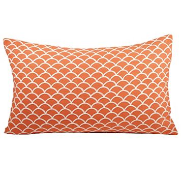 Pomeroy Scallop Oblong Throw Pillow