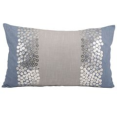 Pomeroy Nautical Shimmer Oblong Throw Pillow