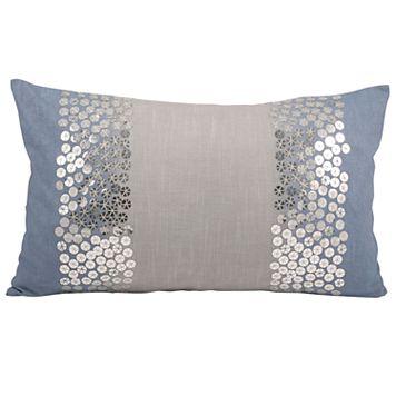 Pomeroy Nautical Shimmer Oblong Throw Pillow