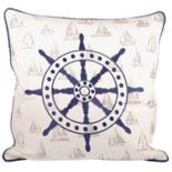 Pomeroy Captain's Wheel Throw Pillow