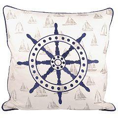 Pomeroy Captain's Wheel Throw Pillow