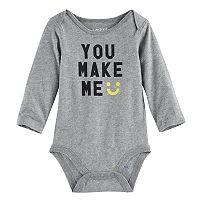 Baby Jumping Beans® Graphic Slubbed Bodysuit