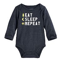 Baby Jumping Beans® Graphic Slubbed Bodysuit