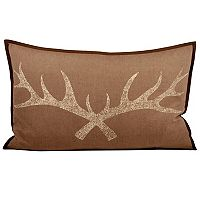 Pomeroy Antler Oblong Throw Pillow