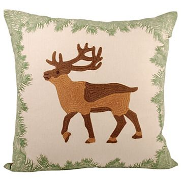 Pomeroy Elk Throw Pillow