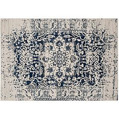 Safavieh Madison Medallion Star Framed Rug