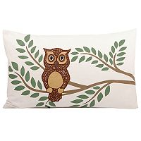 Pomeroy Owl Oblong Throw Pillow