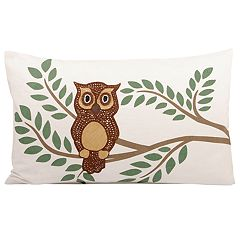 Pomeroy Owl Oblong Throw Pillow