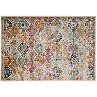 Safavieh Madison Panel Kirman Medallion Rug
