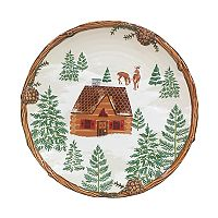St. Nicholas Square® Lodge Dinner Plate