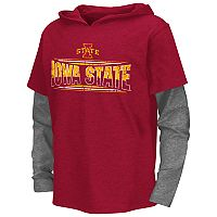 Boys 8-20 Campus Heritage Iowa State Cyclones Patrol Mock-Layer Tee