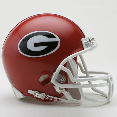 University of Georgia Mini Replica Helmet