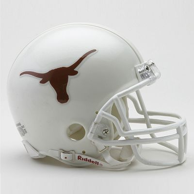 University of Texas Mini Replica Helmet