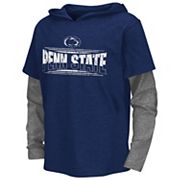 Boys 8-20 Campus Heritage Penn State Nittany Lions Patrol Mock-Layer Tee