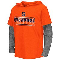 Boys 8-20 Campus Heritage Syracuse Orange Patrol Mock-Layer Tee