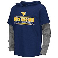 Boys 8-20 Campus Heritage West Virginia Mountaineers Patrol Mock-Layer Tee