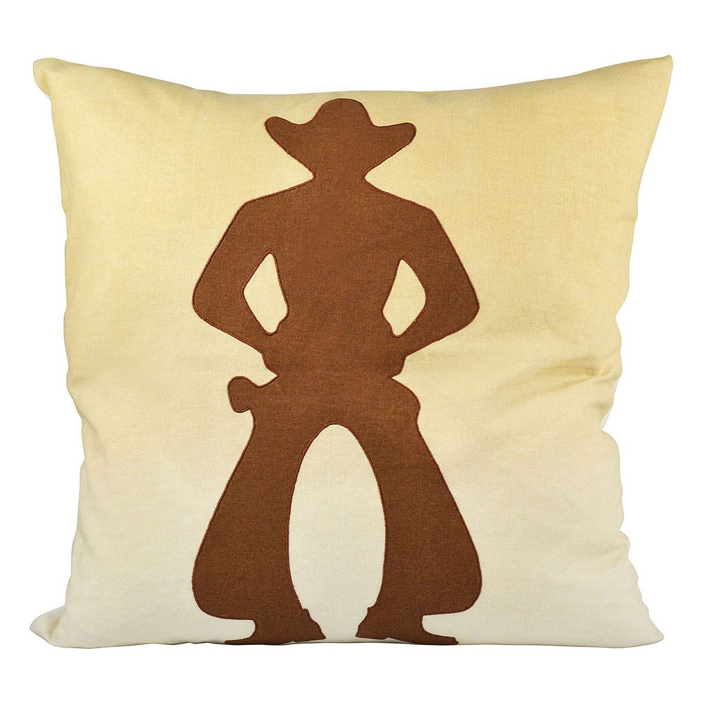 Pomeroy Cowboy Throw Pillow