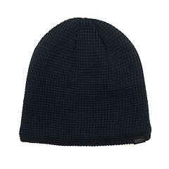 Men's Levi's® Sherpa-Lined Waffle Knit Beanie