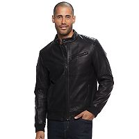 Men's Apt. 9® Faux-Leather Moto Jacket